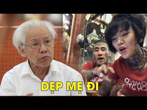 Đại ca Sài Gòn xăm trổ đầy mình cảnh cáo giáo sư Hồ Ngọc Đại: đừng làm dại #VoteTv