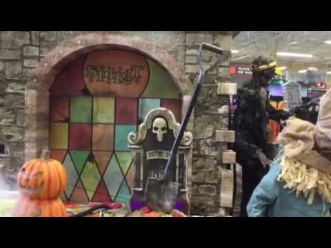 spirit halloween 2016 clock tower youtube - Spirit Halloween 2016