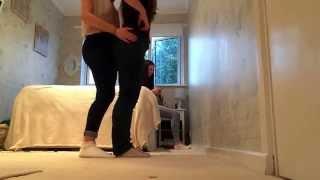 Ur first dancing video Red nose dance (messing around btw)