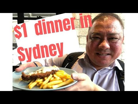 How $1 Dinner Works? Cheap Eats Sydney | $1 Chicken Schnitzel, Budget, Living In Sydney, Sydney Food