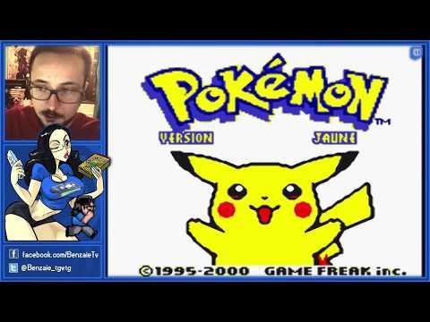 13H de Pokémon Jaune Pisse (intégral part 1) - Benzaie Live
