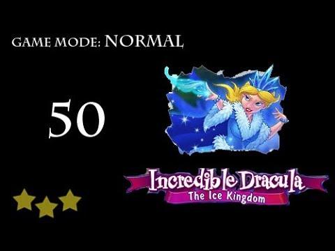 Incredible Dracula - The Ice Kingdom Level 50 |