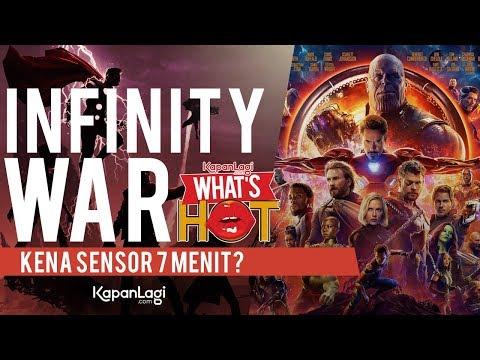 Avengers Infinity War Dipotong 7 Menit?