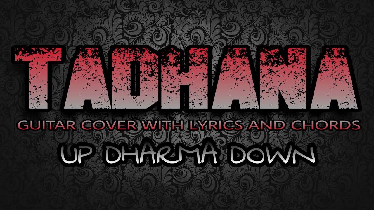 Tadhana Up Dharma Down Guitar Cover With Lyrics Chords Youtube