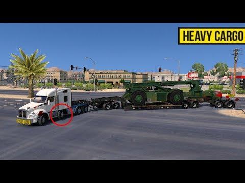 Kenworth T880 8X4   Lowboy con Jeepdolly y Stinger Sobrepeso y Sobredimensiones
