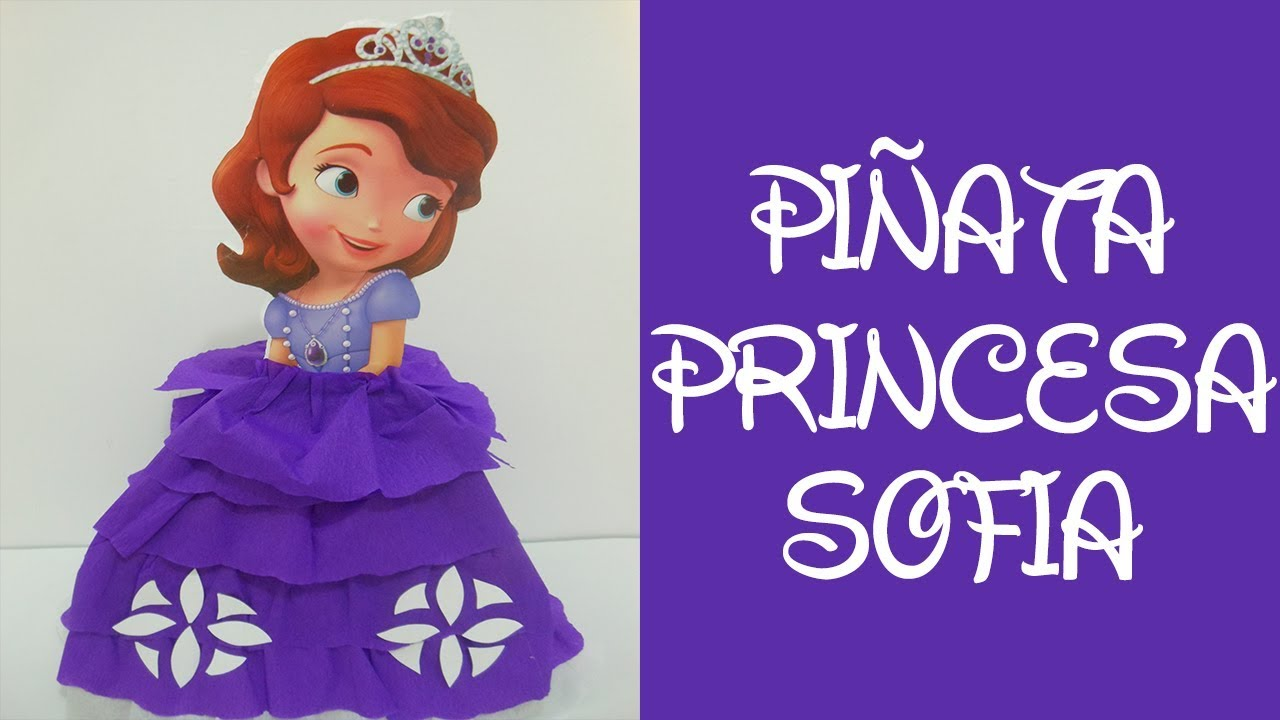 f1d06edea Piñata de Princesa Sofia | (Piñata by Princesa Sofia) - YouTube