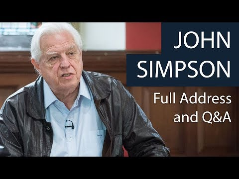 John Simpson | Full Address and Q&A | Oxford Union