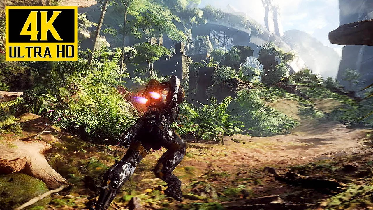 Anthem E3 2017 Gameplay Reveal Trailer 4k 2160p Hd Youtube