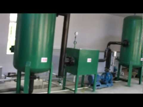 100kw biomass gasification power plant, wood chips gasifier for 100KW genset, plastic waste gasifier