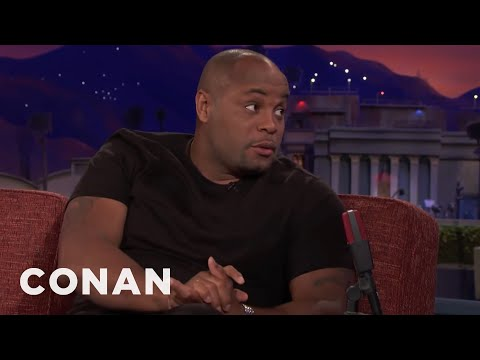 Daniel Cormier Is Terrified Of Birds  - CONAN on TBS