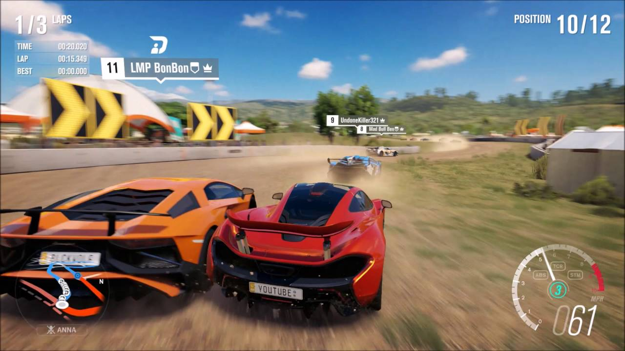 Forza Horizon Part Hypercar Race Down To The Wire Youtube