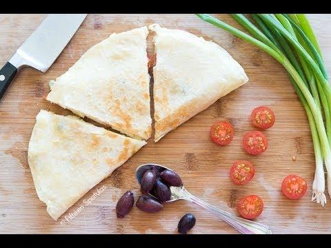 Greek-Style Quesadilla Recipe My Fav Quick Lunch!