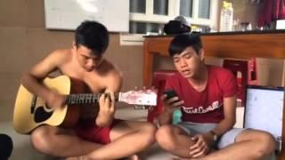 """Chiều nay không có mưa bay - Trung """"Heo""""/ Guitar - Lê Minh Gô ;D"""
