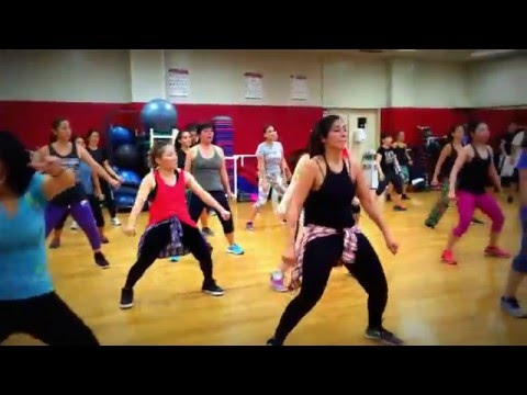 MixxedFit Class (Work From Home by Fifth Harmony) @ Ironworks Gym in Okinawa Japan