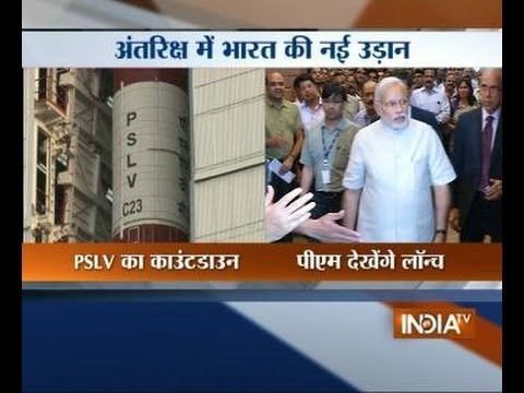 PM Modi to witness launch of ISRO's PSLV C-23 rocket