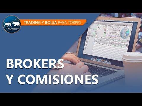 Brokers y comisiones