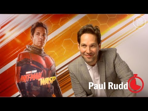 What does Paul Rudd want to enlarge?  Timed Out 'AntMan and the Wasp'