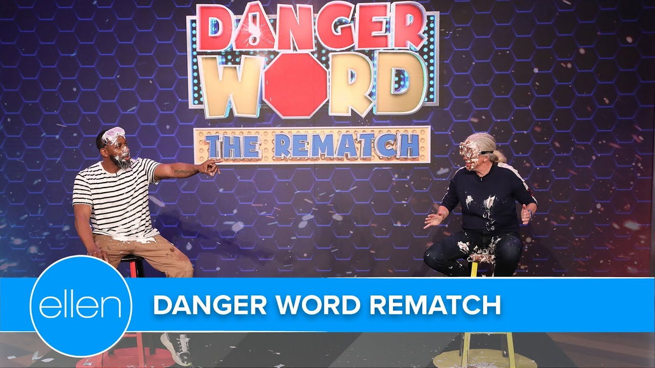 Ellen & tWitch in 'Danger Word' Rematch Against Executive Producers