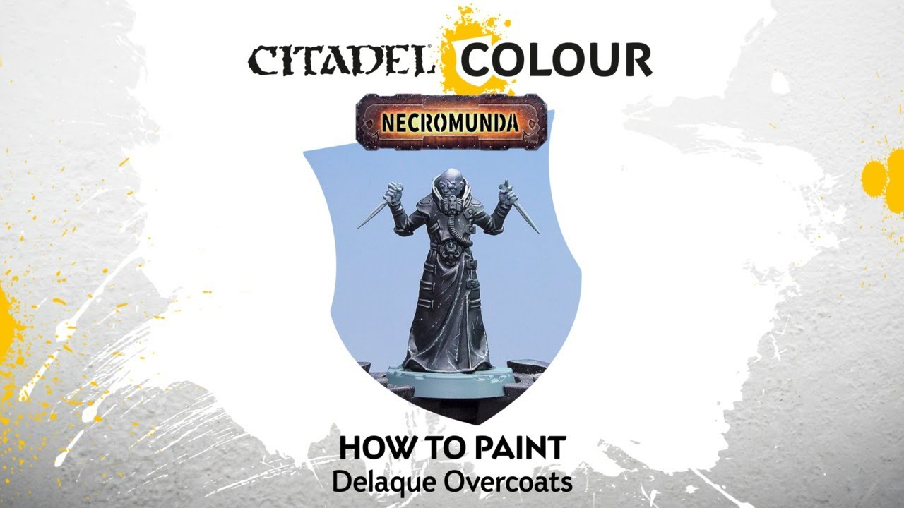 How to Paint Necromunda: Delaque Overcoats