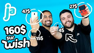 On TESTE 160$ de gadgets de WISH