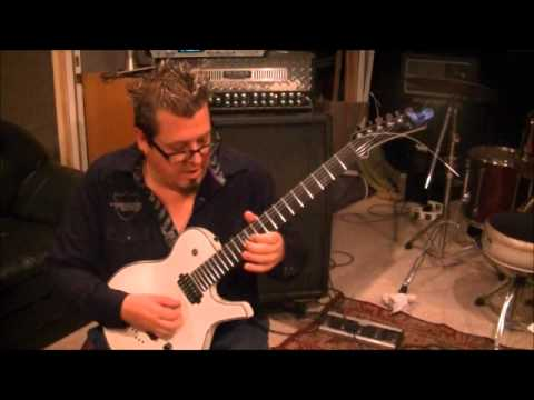 How to play the Guitar Solo to Sweet Dreams by Marilyn Manson on guitar by Mike Gross