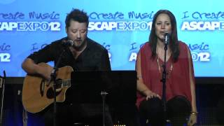 """Hillary Lindsey - """"American Honey"""" at the 2012 ASCAP """"I Create Music"""" EXPO"""