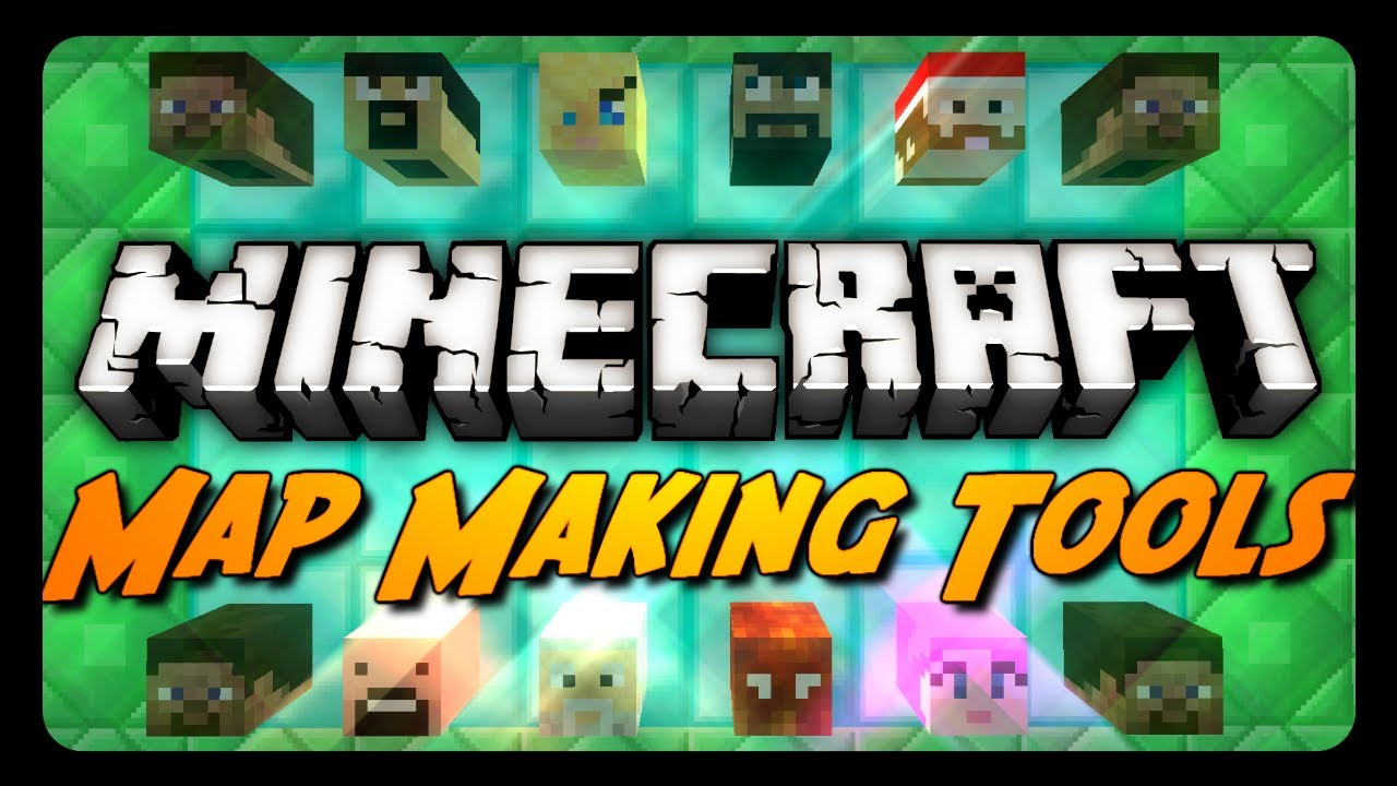 Minecraft Mod Review: MAP MAKING TOOLS! (Custom Player Heads, Super Potions  & More)