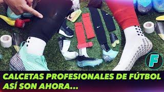 Calcetas Profesionales De Fútbol Así Son Ahora En Rusia 2018 Youtube