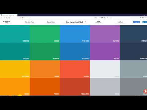 How To Customize Colors And Change With Flat Colors