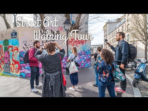 Street Art Walking Tour with an Expert Guide, Paris, France