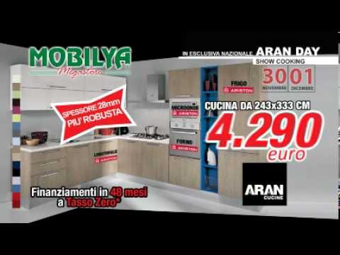 In esclusiva Cucine Aran per Mobilya - sabato