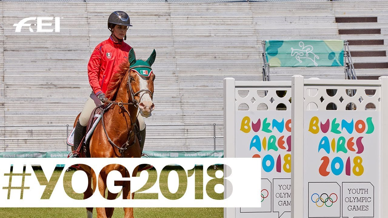 The Equestrian Teams At The Yog2018 Youth Olympic Games