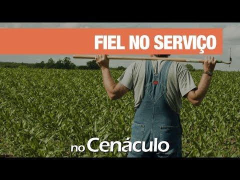 Fiel no serviço   no Cenáculo 15/11/2019