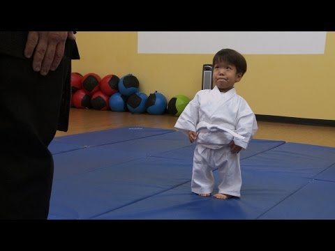 Thumbnail: Will's First Karate Lesson | The Little Couple