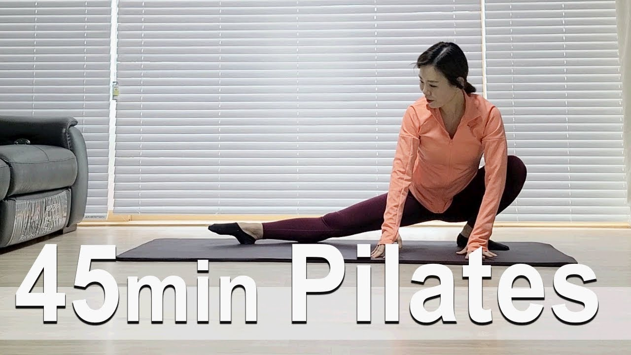 55 minute Pilates Workout   55분 필라테스   Diet Workout   Home Training   홈트   Sunny Funny Fitness