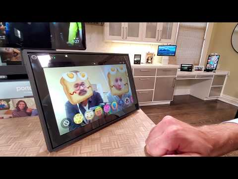 Hands on Look at Facebook 2019 Portal Video Chat Devices