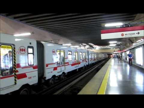 Şili Santiago metrosu