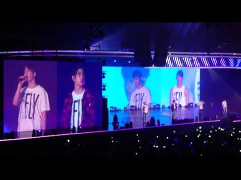 160624 GOT7 Chinese song 'If Only' 可惜没如果 - Fly in Singapore