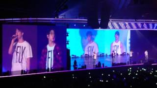160624 got7 chinese song if only 可惜没如果 fly in singapore