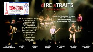 "Dire Straits ""Industrial disease"" 1983-06-22 Paris [AUDIO ONLY]"
