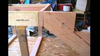 Floor And Deck Stringer Connection - How To Build Stairs