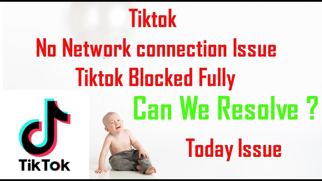 TikTok No Network Connection problem | Tik Tok is not ...