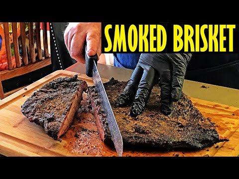 Smoked Brisket On The Oklahoma Joe's Highland - An Overnight Cook