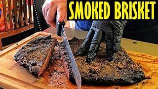 Smoked Brisket On The Oklahoma Joe&#39s Highland - An Overnight Cook