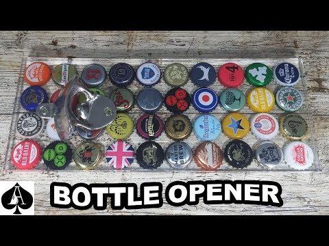 Clear Epoxy Resin Bottle Opener