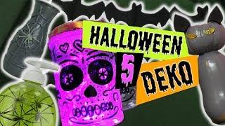 5 Halloween Deko selber machen deutsch   Zimmer dekorieren, Party Dekoration   Tipps DIY Inspiration
