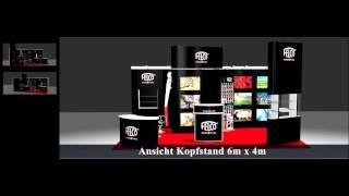 4 Unique Exhibition Stand Designs Using Expoprestige™ Modular Exhibition Stand