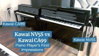 Kawai NV5S: First Impressions vs Kawai CA99   Hybrid Digital Piano Comparison   Family Piano Co.