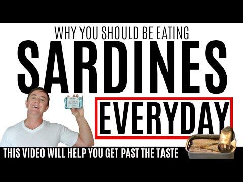 Eat Sardines Everyday | Health Benefits of Sardines