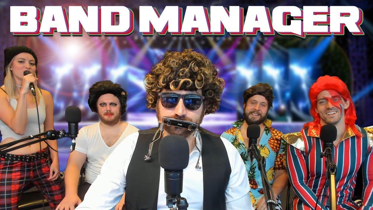 Always Rock Hard - Band Manager Gameplay